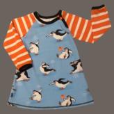 Klänning Pingviner isdans, stl 92