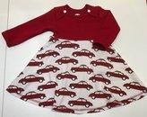 Body-klänning Bilar röd, 74 -- Monica