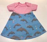 Body-klänning Sweet Dolphins Blue, 74
