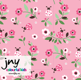 Ladybug pink - Ekologiskt