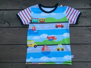 T-shirt På väg, stl 92