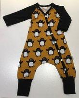 Baggydress Pingviner ockra, 62
