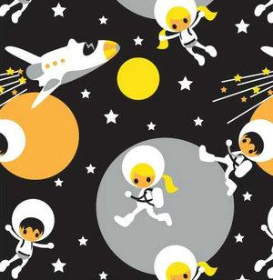 Astronauter Svart