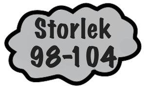 Storlek 98-104