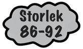 Storlek 86-92
