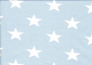 Ljusblå jersey med vita stjärnor