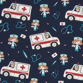 Ambulanser - mörkblå
