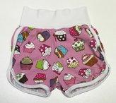 Shorts Cupcakes rosa, 104