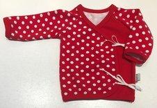 Omlott-tröja Prickar röd, 56