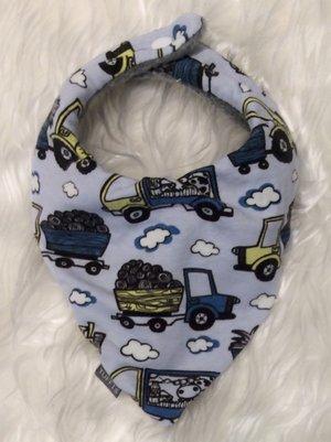Dregglis Traktor ljusblå 1