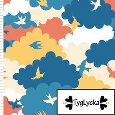 Swallows in the sky - Ekologiskt
