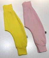 Baggypants rosa + gula - Emelie