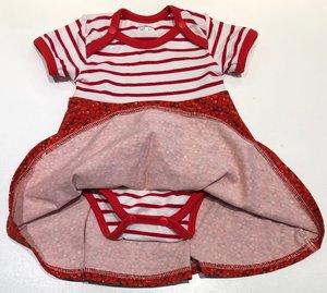 Body-klänning Smultron, 62