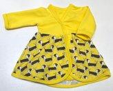 Body-klänning Taxar gul, 44/46