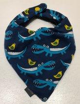 Dregglis Krokodil, marinblå