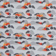 Monster truck grå