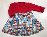 Bodyklänning Jul-snögubbar, 56