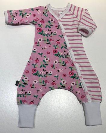 Baggydress Ladybug pink, 50