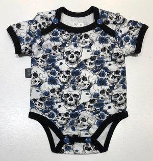 Body Döskallar & Blommor blå, 50