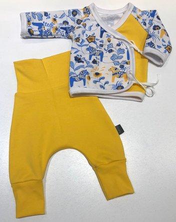 PREMATUR-SET LEKSAND blå/gul
