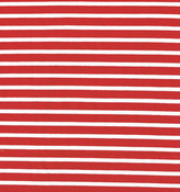Röd/vit randig jersey