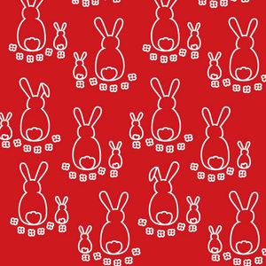 Kaniner röd