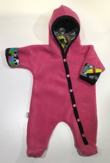 Fleece-overall cerise Television, stl 44