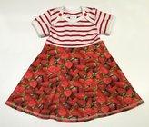Body-klänning Jordgubbar, 56