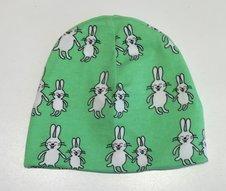 Mössa Funny Bunny grön, 46/48